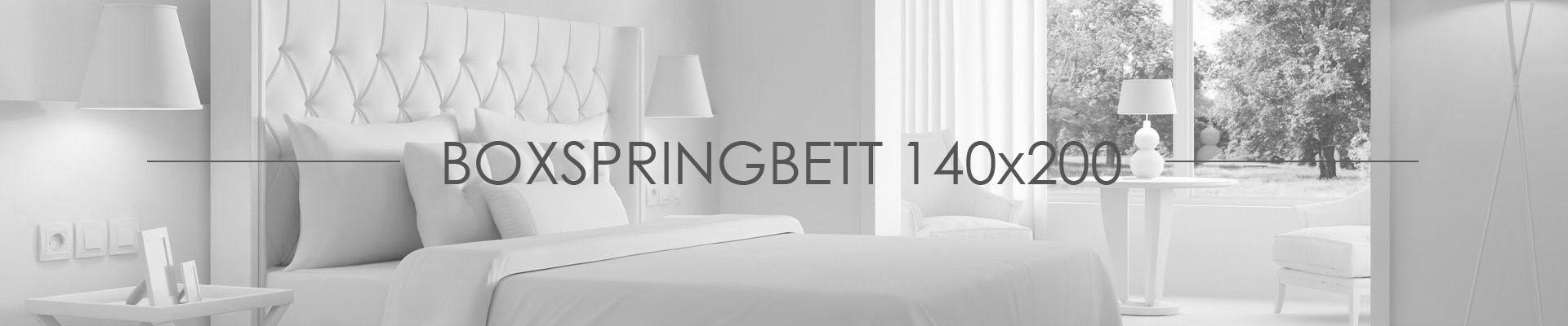 Boxspringbett 140x200