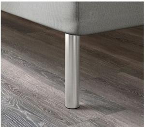 BJORLI Boxspringbett Beine silber von IKEA