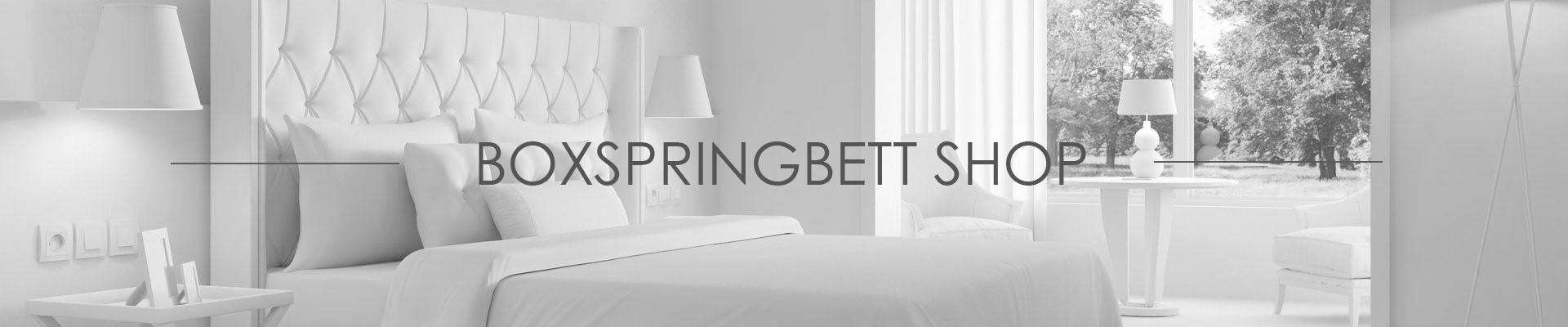 Boxspringbett Shop