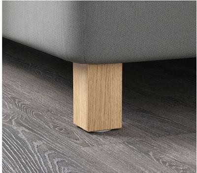 BURFJORD Boxspringbett Beine von IKEA