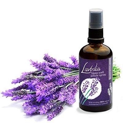 Lavendel Kissenspray für Kopfkissen zum Einschlafen